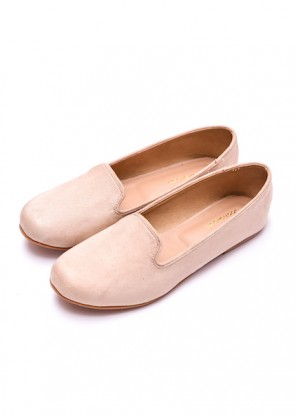 Cream Loafers